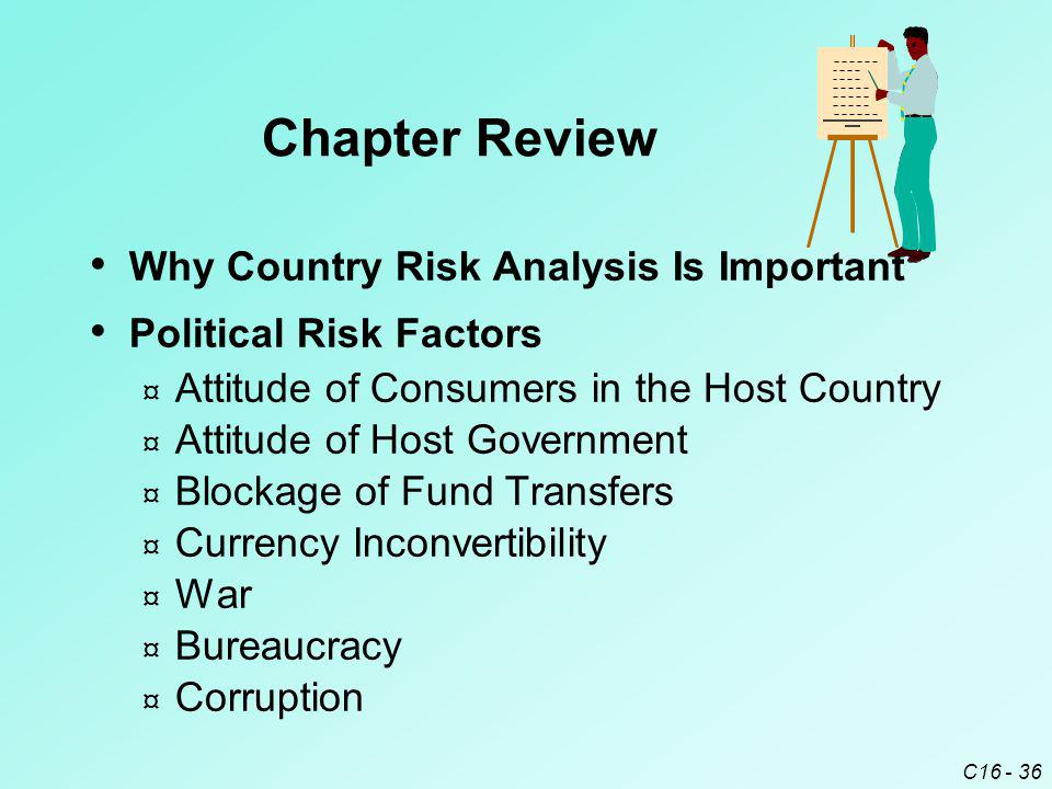 Chapter Review Why Country Risk Analysis Is Important