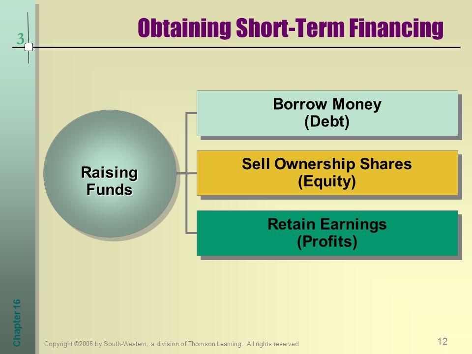Obtaining Short-Term Financing