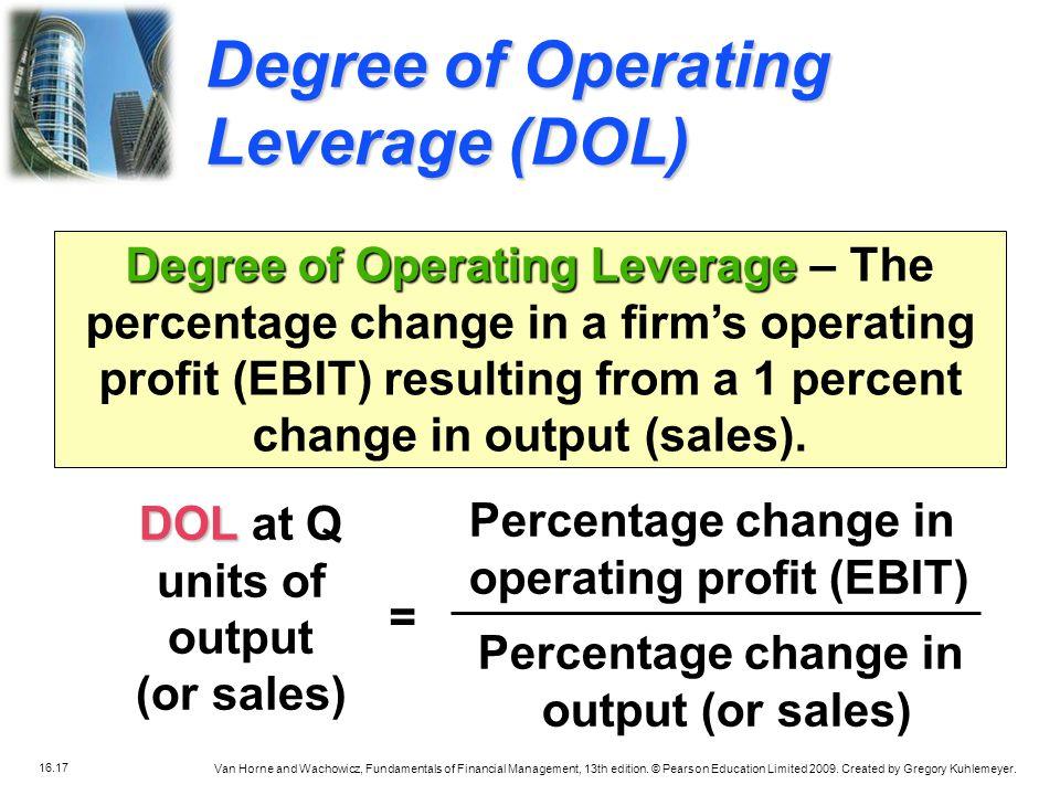 operating profit (EBIT)