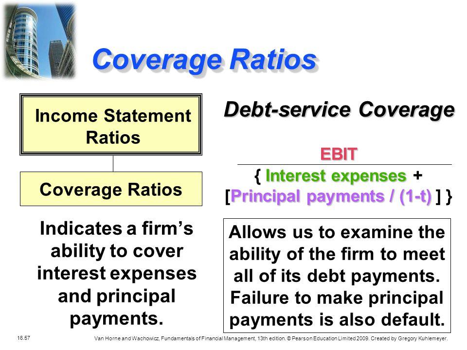 Coverage Ratios Debt-service Coverage