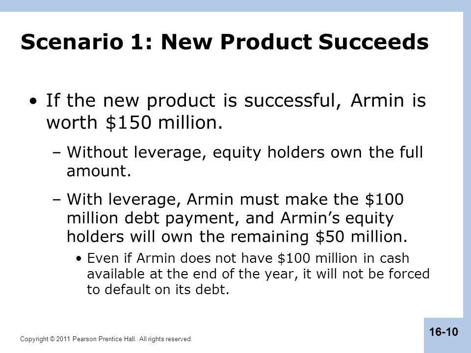 Scenario 1: New Product Succeeds