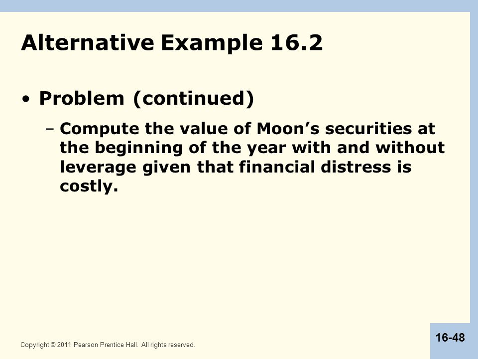 Alternative Example 16.2 Problem (continued)