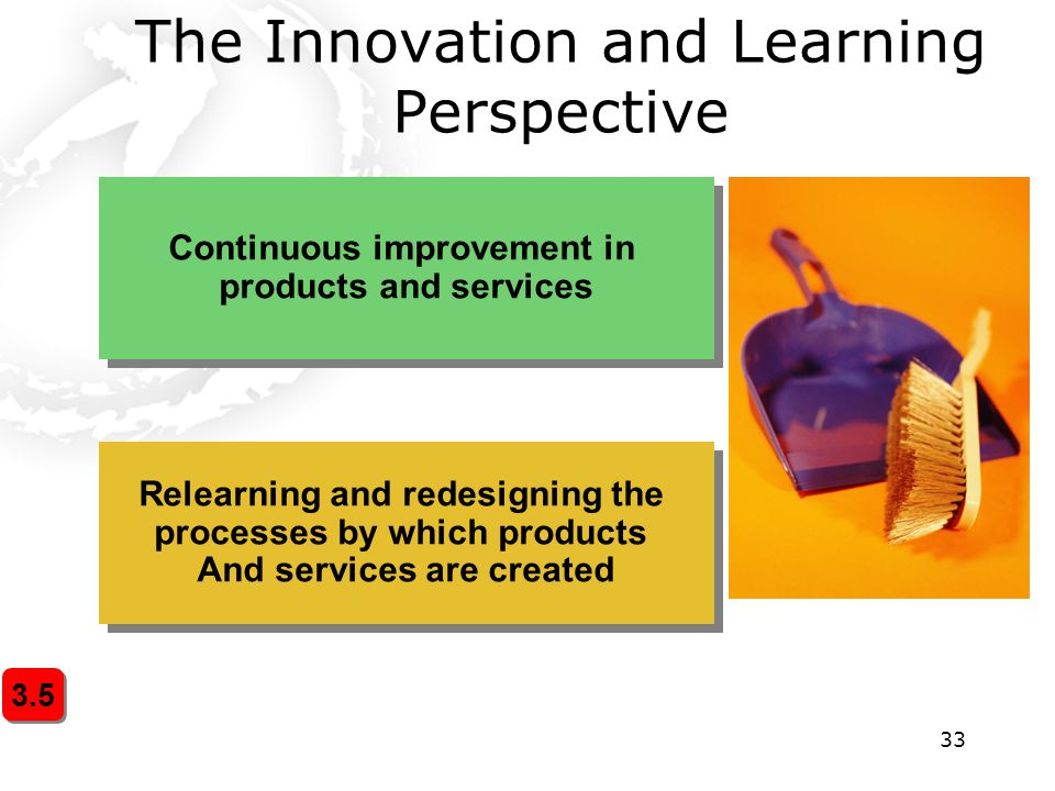 The Innovation and Learning Perspective