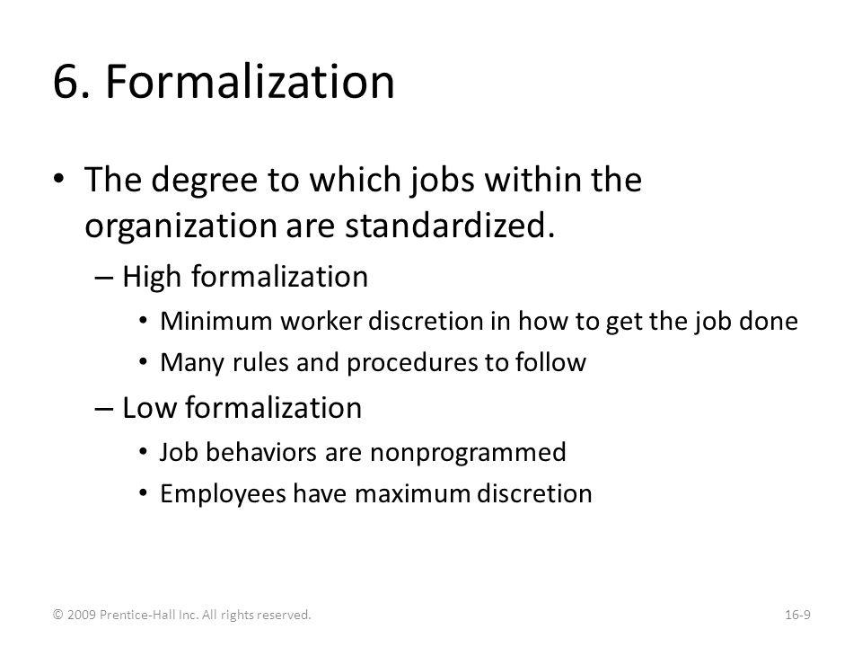 Common Organization Designs: Simple Structure