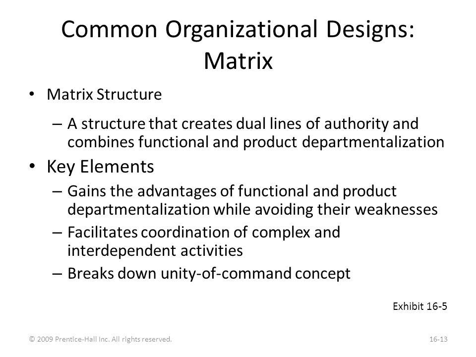 New Design Options: Virtual Organization