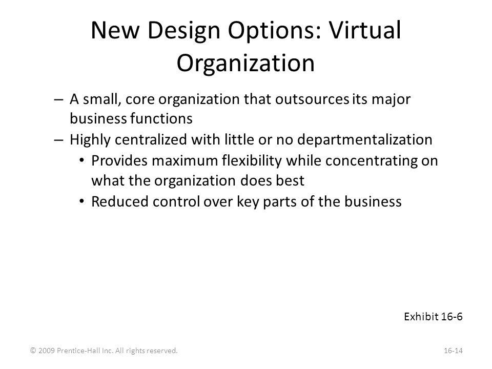 New Design Options: Boundaryless Organization