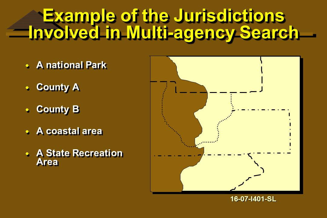 Example of the Jurisdictions Involved in Multi-agency Search