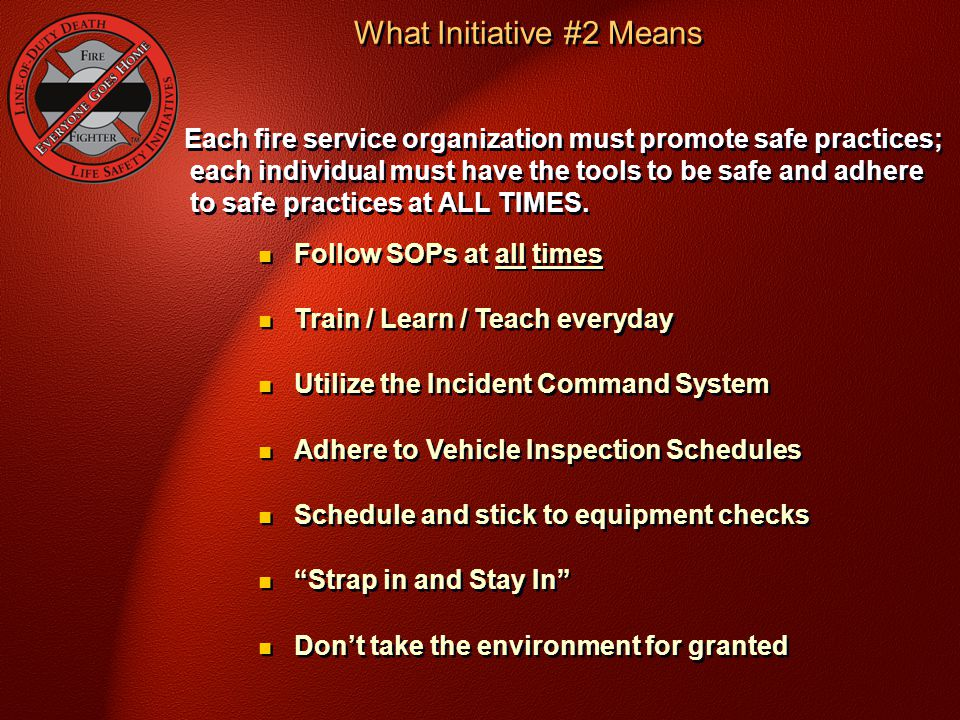 What Initiative #2 Means