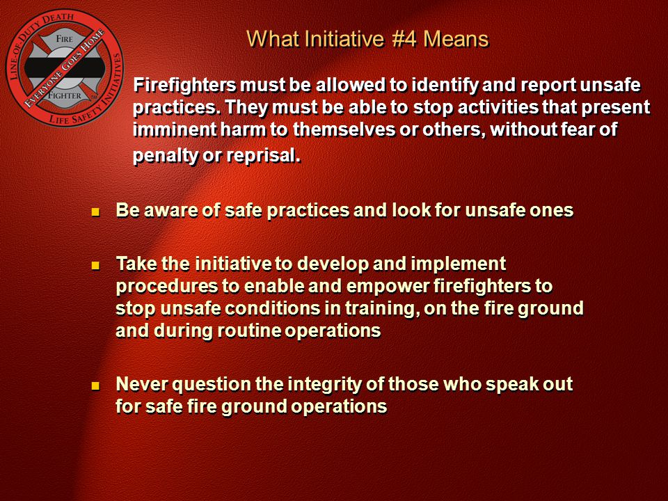 What Initiative #4 Means