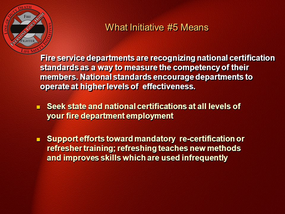 What Initiative #5 Means
