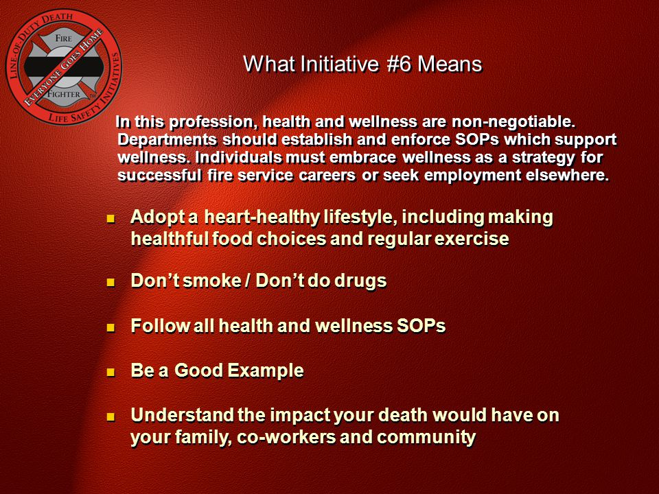What Initiative #6 Means