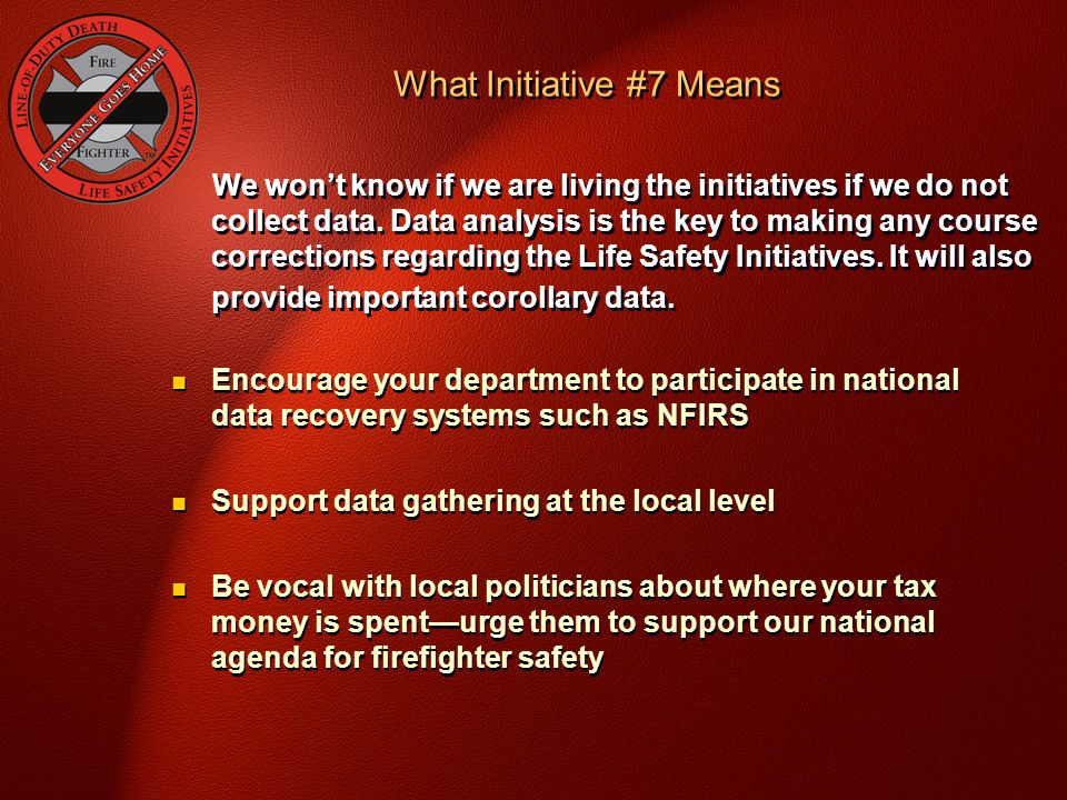 What Initiative #7 Means