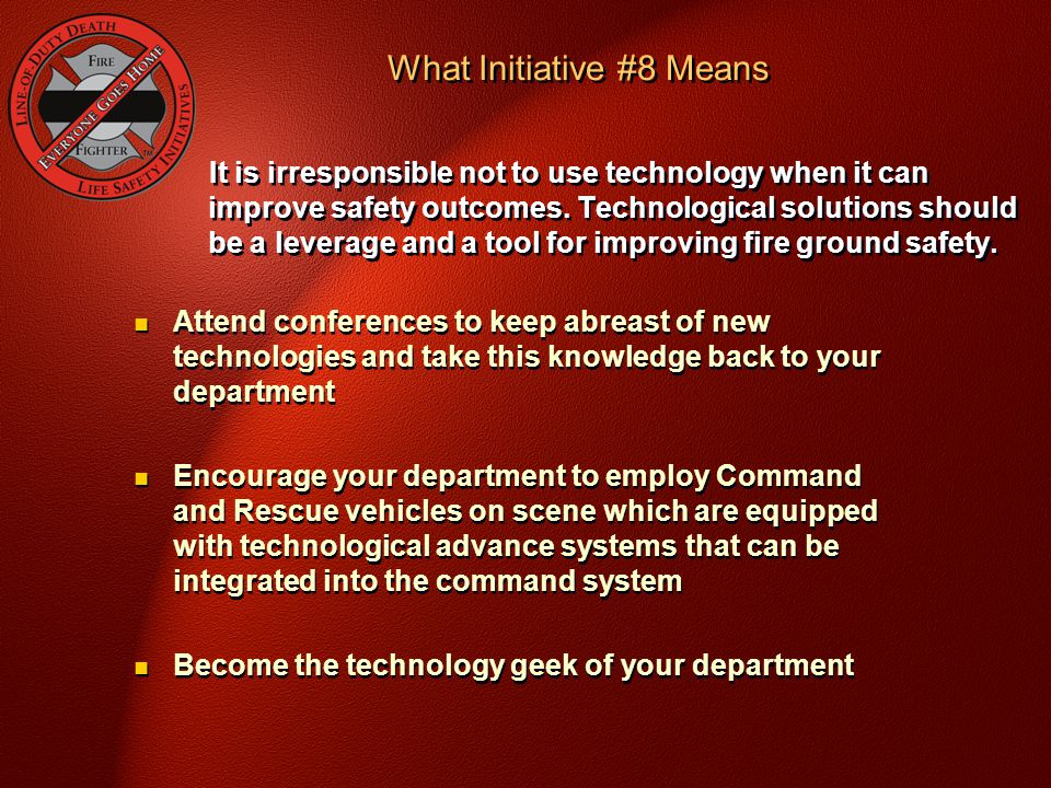 What Initiative #8 Means