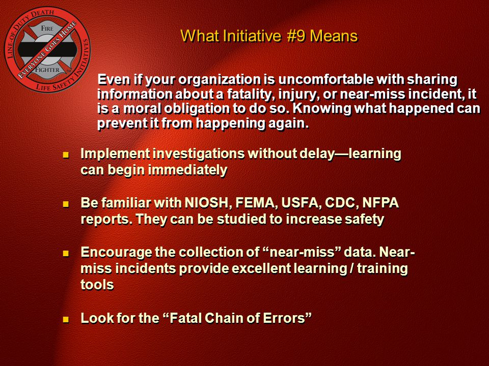 What Initiative #9 Means
