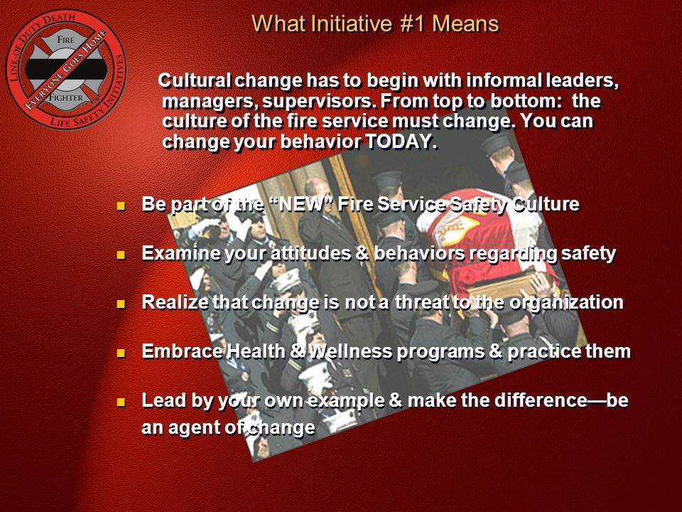 What Initiative #1 Means