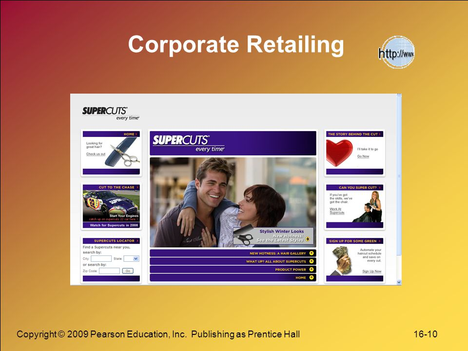Corporate Retailing Copyright © 2009 Pearson Education, Inc.