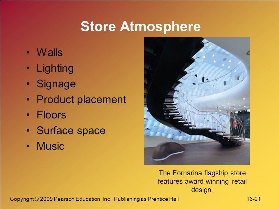 The Fornarina flagship store features award-winning retail design.