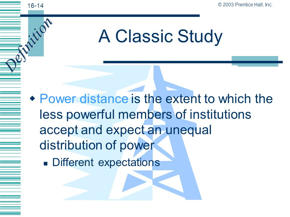 A Classic Study Definition