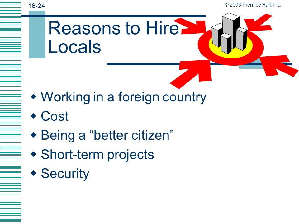 Reasons to Hire Locals Working in a foreign country Cost