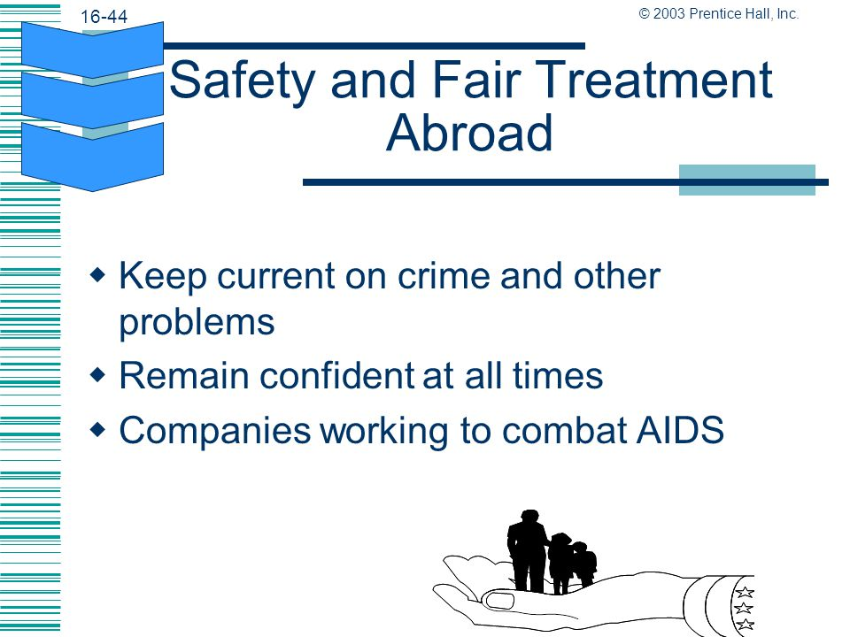 Safety and Fair Treatment Abroad