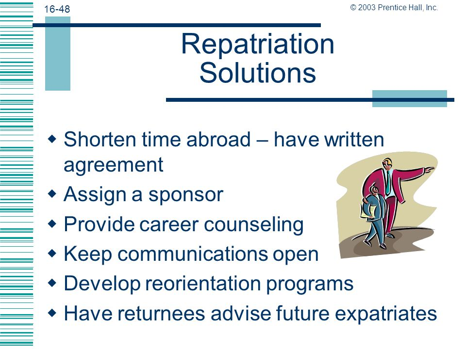 Repatriation Solutions