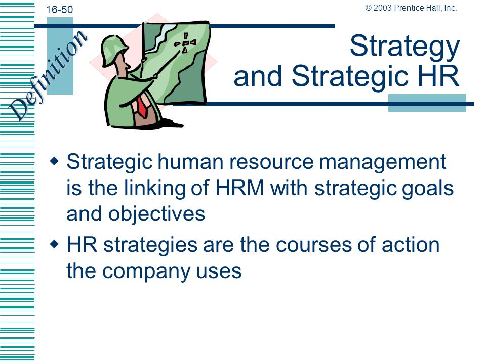 Strategy and Strategic HR