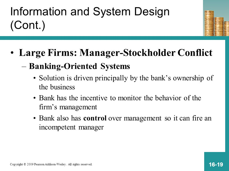 Information and System Design (Cont.)