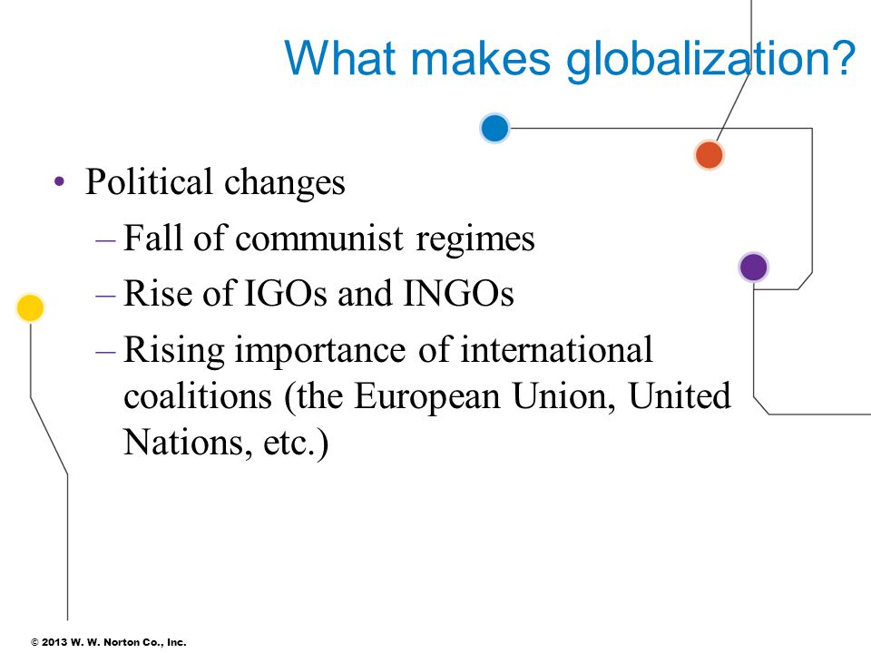What makes globalization