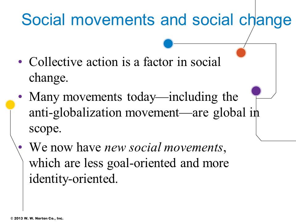 Social movements and social change