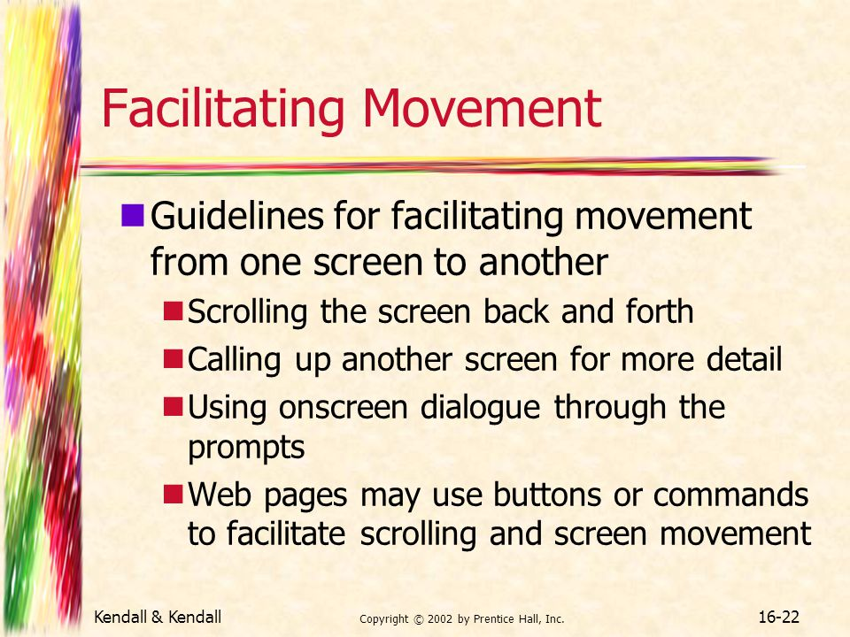 Facilitating Movement