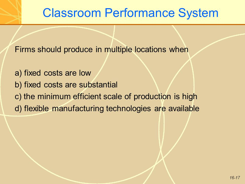 Classroom Performance System