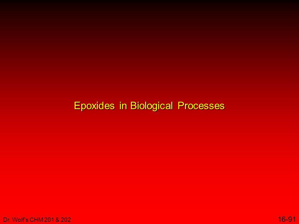 Epoxides in Biological Processes