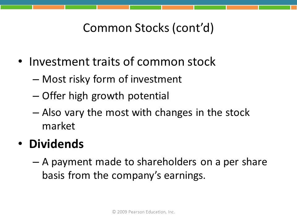 Common Stocks (cont'd)