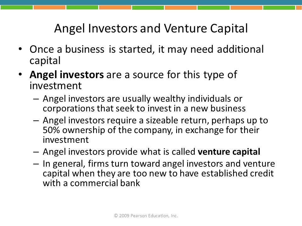 Angel Investors and Venture Capital