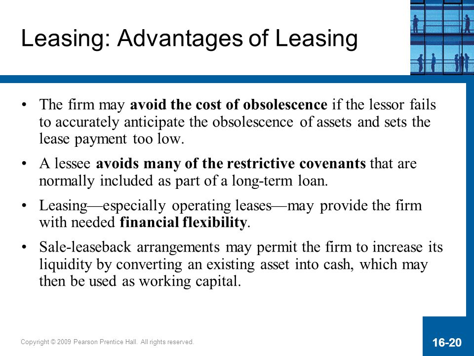 Leasing: Advantages of Leasing