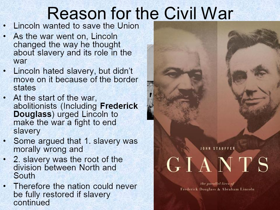 Reason for the Civil War