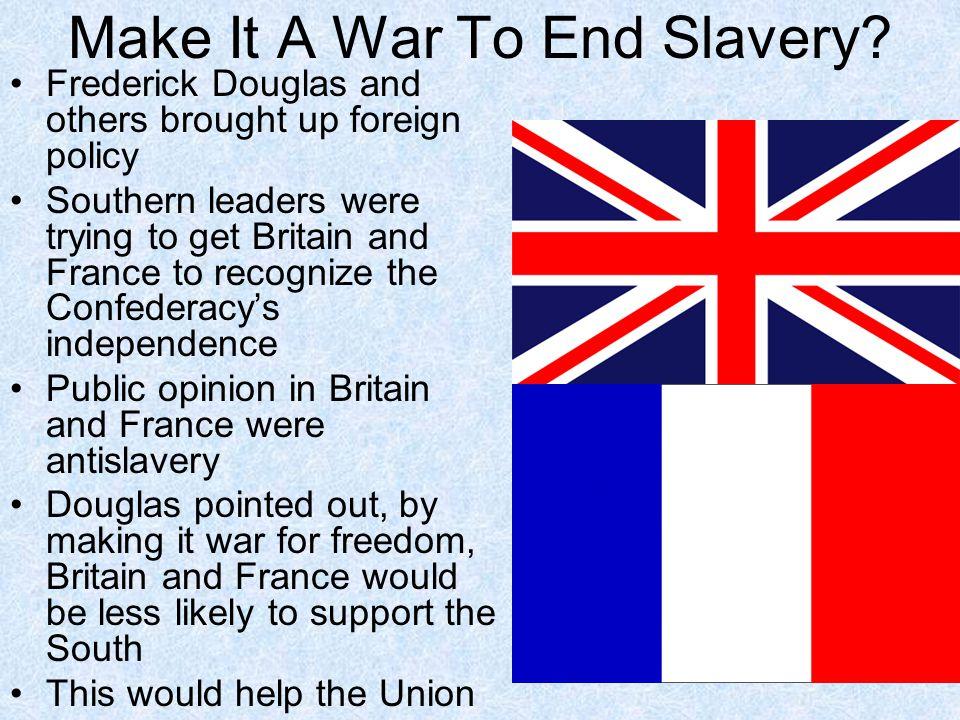 Make It A War To End Slavery
