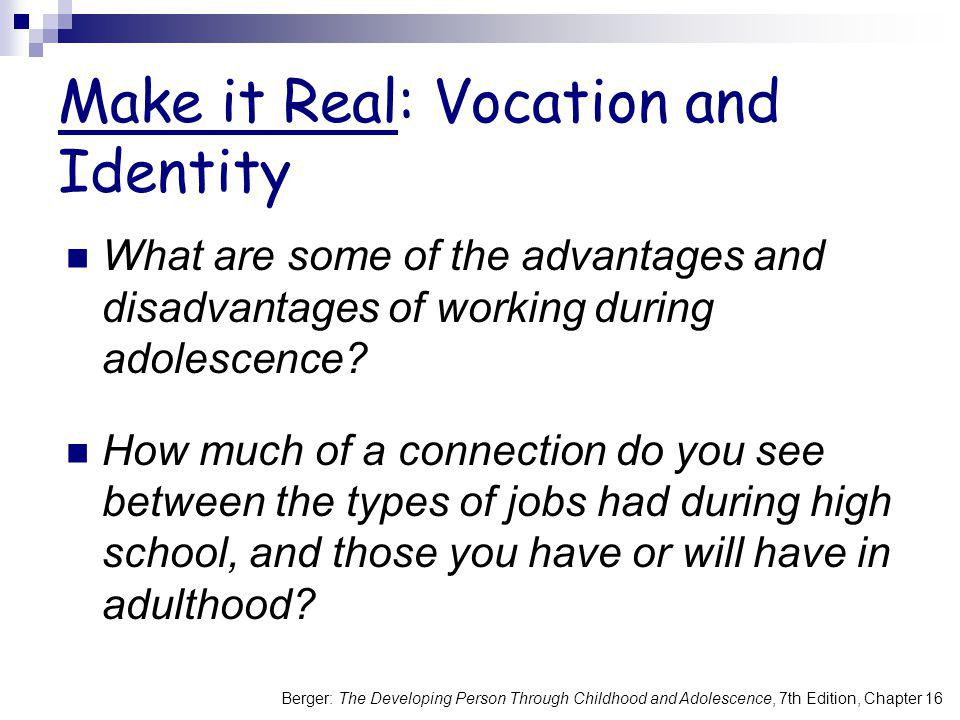 Make it Real: Vocation and Identity