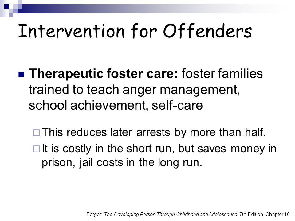 Intervention for Offenders