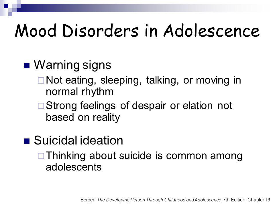Mood Disorders in Adolescence