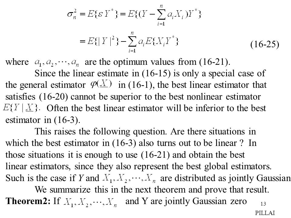 where are the optimum values from (16-21).