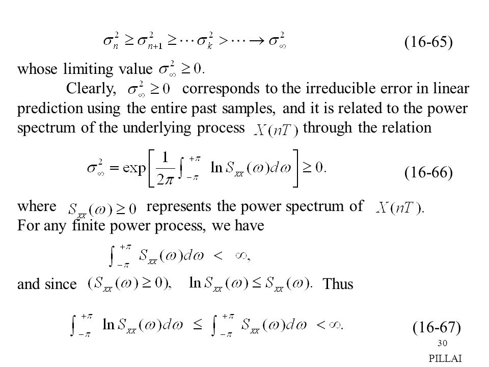 Clearly, corresponds to the irreducible error in linear