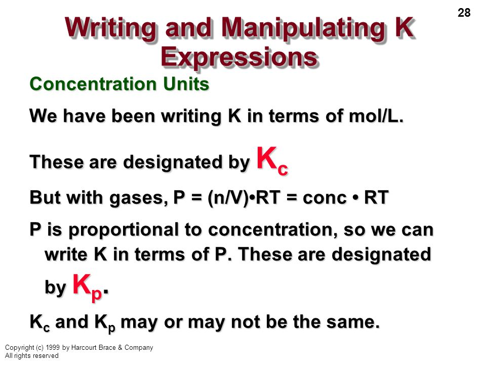 Writing and Manipulating K Expressions