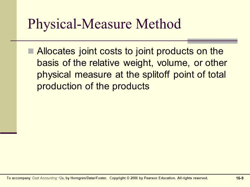 Physical-Measure Method