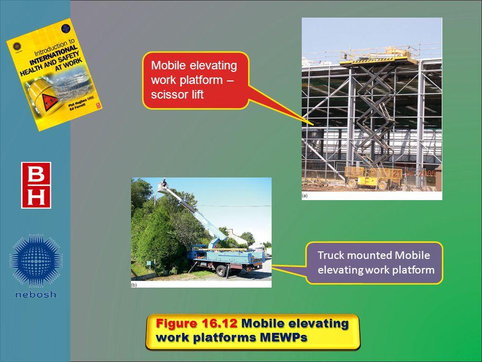 Mobile elevating work platform – scissor lift