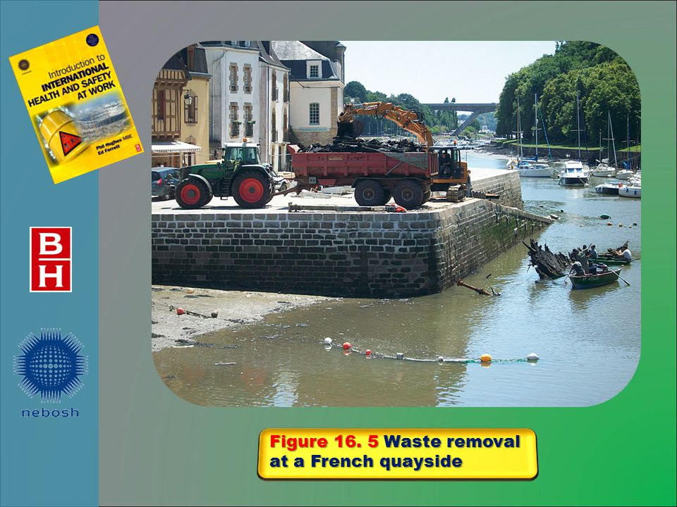 Figure 16. 5 Waste removal at a French quayside