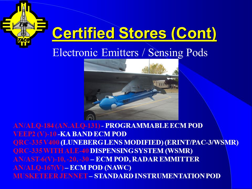 Certified Stores (Cont)