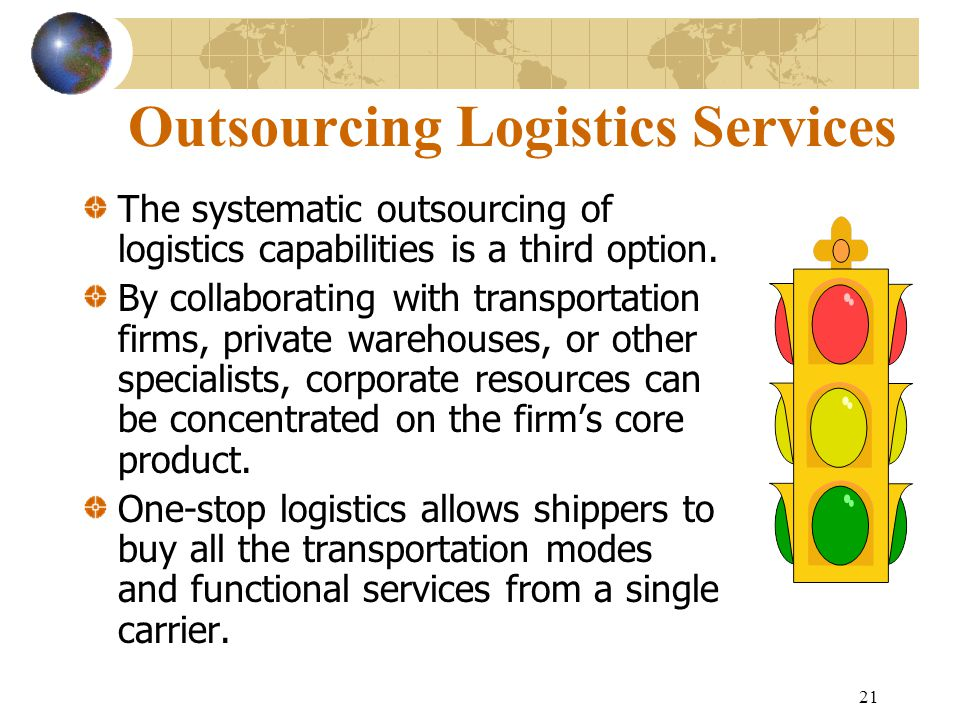 Outsourcing Logistics Services