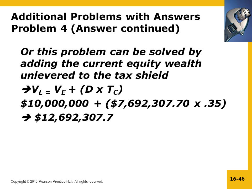 Additional Problems with Answers Problem 4 (Answer continued)