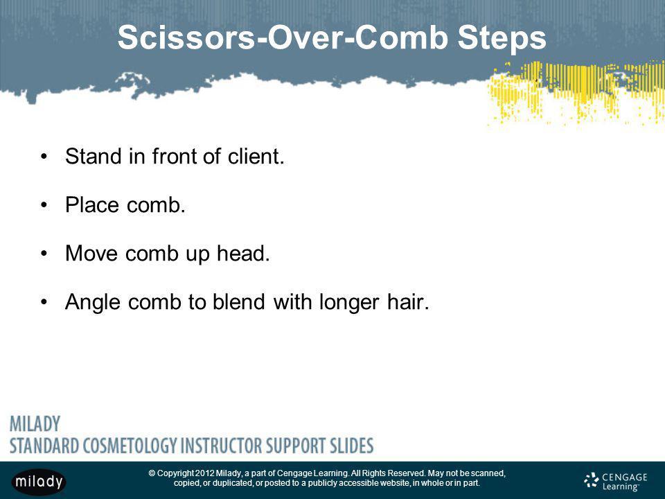 Scissors-Over-Comb Steps